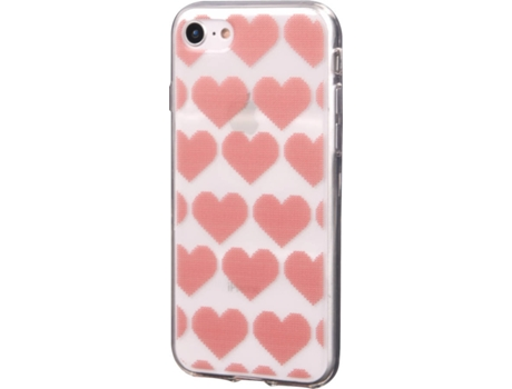 Capa KUNFT Christmas Hearts iPhone 7, 8 — Compatibilidade: iPhone 6, 6s, 7 ,8