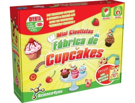 Fábrica de Cupcakes SCIENCE4YOU — Science4You