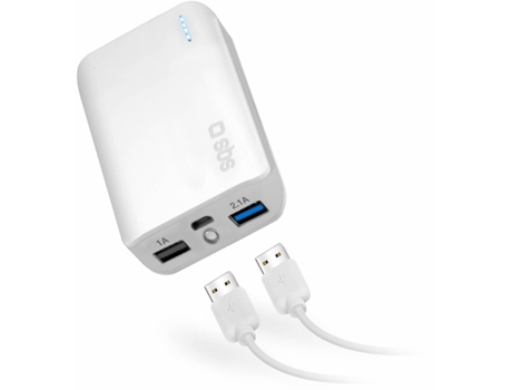 Powerbank SBS 2.1A 2USB 7800 — 7800 mAh