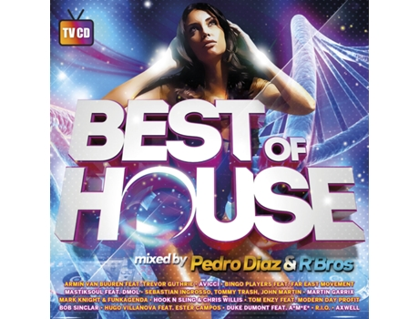 CD Best Of House Mixed By Pedro Diaz & R'Bros — House / Electrónica