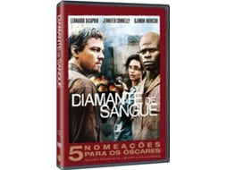 DVD Diamante de Sangue — De: Edward Zwick | Com: Leonardo DiCaprio, Jennifer Connelly, Djimon Hounsou