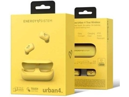 Auriculares Bluetooth True Wireless Energy Sistem Urban 4 In Ear Microfone Amarelo Worten Pt