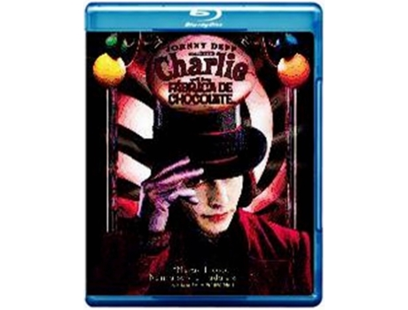 Blu-Ray Charlie e a Fábrica de Chocolate — De: Tim Burton | Com: Johnny Depp,Freddie Highmore,David Kelly,Helena Bonham Carter