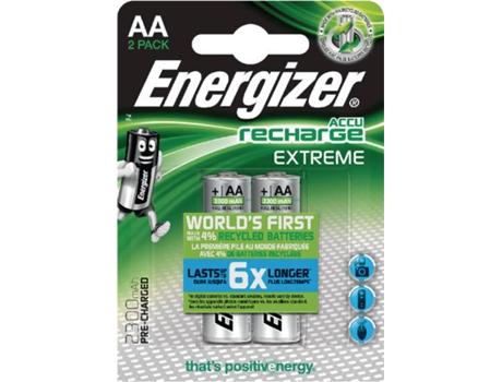 Pilhas Recarregáveis ENERGIZER HR06 2300mAh BL2 (2 unidades) | [6640394 ]