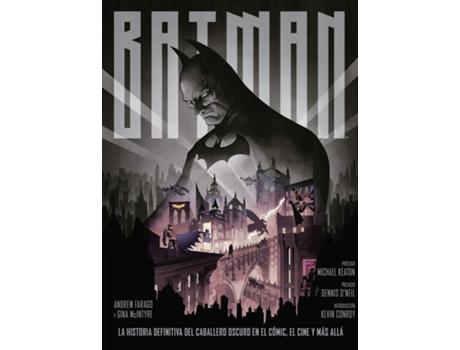 NORMA EDITORIAL - Livro Batman La Historia Definitiva Caballero Oscuro Comic de Andrew Farago (Espanhol)