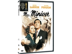 DVD Mrs Miniver — De: William Wyler | Com: Greer Garson, Walter Pidgeon, Teresa Wright