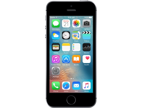 Smartphone NOS iPhone SE 16GB Preto