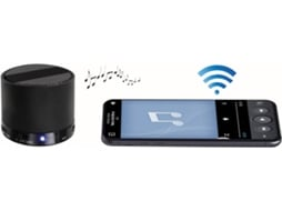 Coluna Bluetooth CLIPSONIC TES175N Preto — 3W | Bluetooth