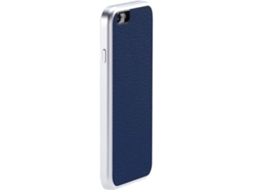 Capa JUST MOBILE AluFr Leather iPhone 6, 6s Azul — Compatibilidade: iPhone 6, 6s