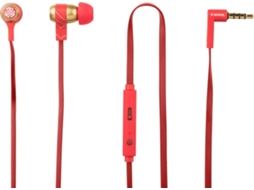 Auriculares TRIBE Swing Marvel Iron Man — Compatibilidade: Universal
