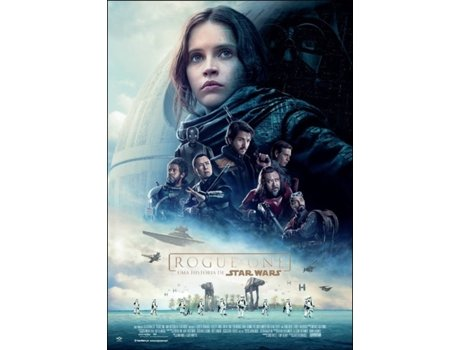 Poster Rogue One — Oferta na compra do DVD ou Blu-ray Rogue One