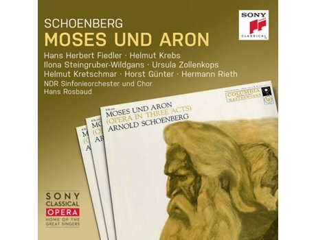 CD Schoenberg: Moses und Aron — Clássica