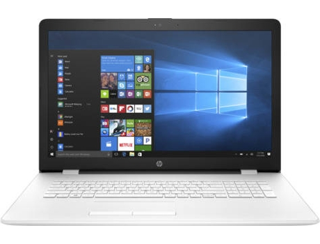 Portátil 17'' HP 17-Bs001Np — Intel Celeron N3060 / 4 GB / SATA 1 TB / Intel HD 400