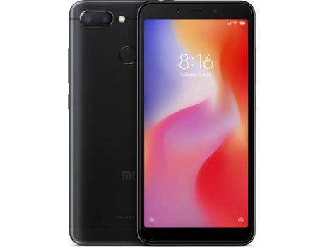 c2fe78f25d9 Smartphone XIAOMI Redmi 6 (5.45   - 3 GB - 32 GB - Preto)