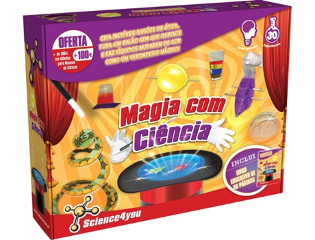 Fábrica Science4You Magia Científica — Science4You