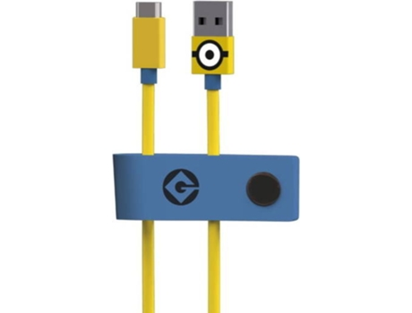 Cabo TRIBE  Minions USB-microUSB Carl — Compatibilidade: Universal