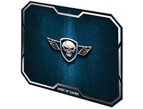 Tapete Gaming SPIRIT OF GAMER Wing Skull Azul — Azul