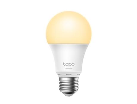 TP-LINK Lâmpada Inteligente Smart Wi-Fi Tapo L510E, E27, 8,7 W, 806 Lúmenes, Pack 2 Unidades