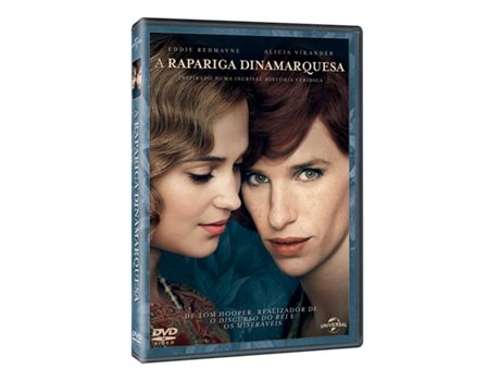 DVD A Rapariga Dinamarquesa — Do realizador Tom Hooper
