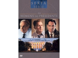 DVD Os Homens do Presidente - Temporada 6 — De:  | Com: Alan Alda, Stockard Channing