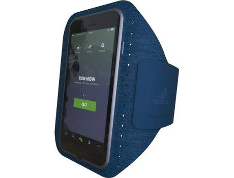 Armband ADIDAS Sport Apple iPhone 6, 6s, 7, 8 Azul — Compatibilidade: iPhone 6, 6s, 7, 8
