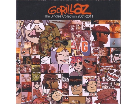 CD/DVD Gorillaz - The Singles Collection 2 — Pop-Rock