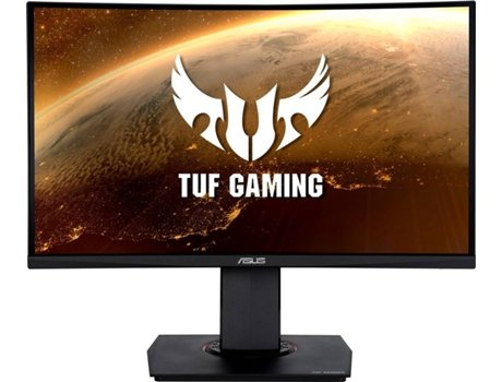Monitor Gaming Curvo ASUS TUF VG24VQ (23.6'' - 1 ms - 144 Hz - FreeSync)