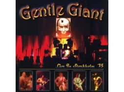 CD Gentle Giant - Live In Stockholm '75