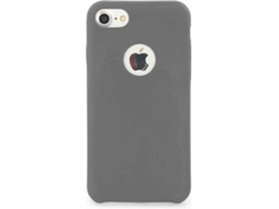 Capa TUCANO Velluto iPhone 7, 8 Cinzento — Compatibilidade: iPhone 7, 8