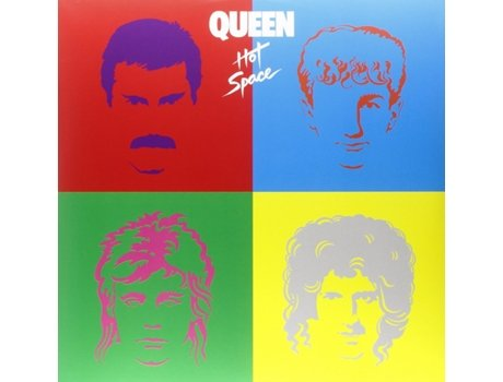 Vinil Queen - Hot Space — Pop-Rock