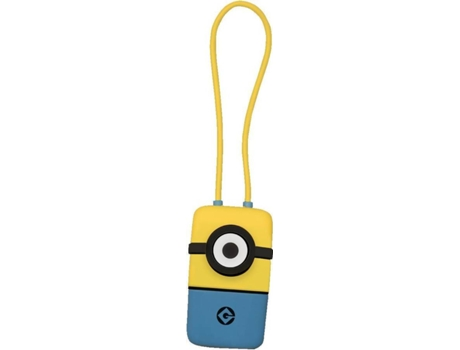 Cabo TRIBE  Minions keyline USB-microUSB — Compatibilidade: Universal
