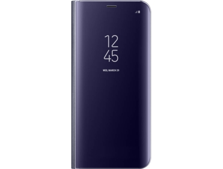 Capa SAMSUNG Clear View Galaxy S8+ Roxo — Compatibilidade: Samsung Galaxy S8+