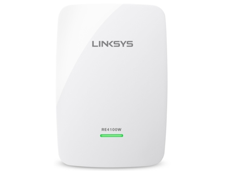 Repetidor de Sinal LINKSYS Wifi N600 RE4100W — Dual Band | 600 Mbps