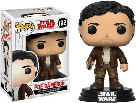 Figura Vinil FUNKO POP! Star Wars Episode 8: Poe Dameron — Star Wars