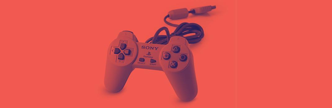 botões do comando da PlayStation