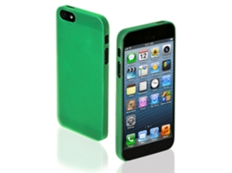 Capa SBS Extra Slim iPhone 5, 5s, SE Verde — Compatibilidade: iPhone 5, 5s, SE