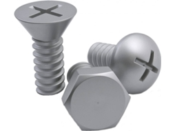 Conjunto 3 Cabides QUALY Screw Prateado — Metal | 10.2 x 7.2 x 7.2 cm