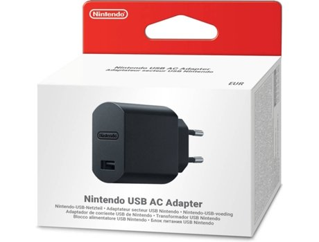 Adaptador de Corrente USB para Nintendo Switch — Nintendo Switch