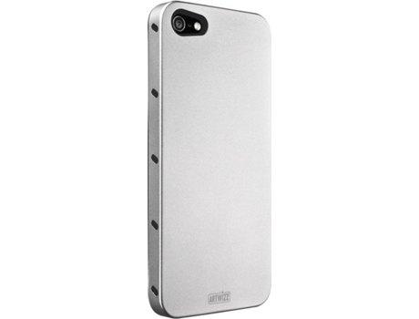 Capa ARTWIZZ Alu iPhone 5/5S/Se Light Silver — Capa / iPhone 5/5S/Se