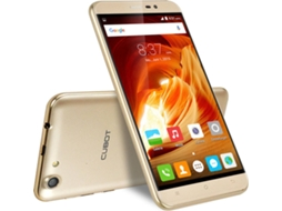 Smartphone  CUBOT Note S 16GB Dourado — Android 5.1 / 5.5'' / MTK6580 Quad Core 1.3GHz