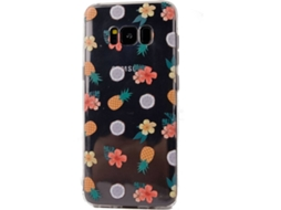 Capa KUNFT iPhone s8 Pineaples&Flowers — Compatibilidade: iPhone S8