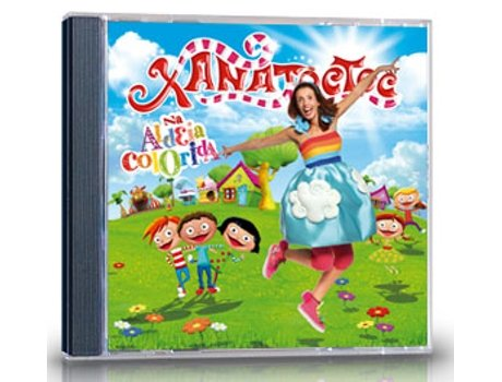 CD Xana Toc Toc - Na Aldeia Colorida — Infantil