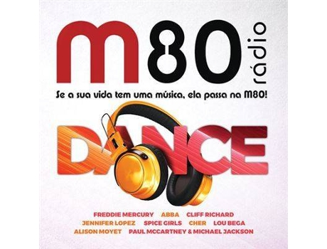 CD M80 Dance (2CDs)