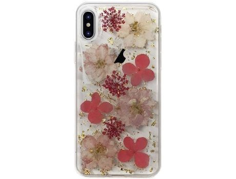 Capa PURO Hippie chic iPhone X Rosa — Compatibilidade: iPhone X, XS