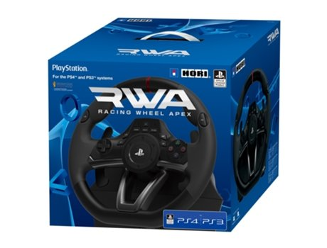 Volante Racing Wheel Apex Playstation HORI para PS4/PS3 — PS4/PS3