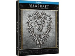 Blu-Ray Steelbook Warcraft: O Primeiro Encontro de Dois Mundos — De: Duncan Jones | Com: Travis Fimmel, Paula Patton, Ben Foster