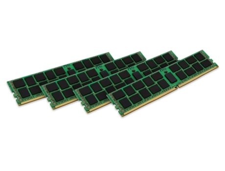 Memória RAM DDR4 KINGSTON 64 GB (2133 MHz - CL 5 - Verde) — 4 x 16 GB | 2133 MHz | DDR4