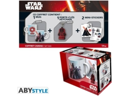 Pack STAR WARS Caneca+Porta-chaves+autocolantes — Star Wars