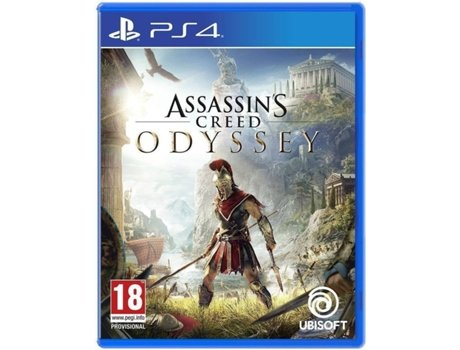 Jogo PS4 Assassin's Creed Odyssey (Day One Edition) — Ação/Aventura | Idade Mínima Recomendada: 18