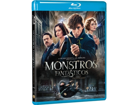 Blu-Ray Monstros Fantásticos — Do realizador David Yates